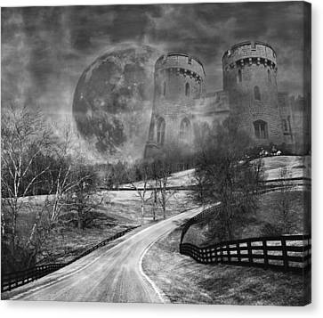 Towers On The Hill Canvas Print