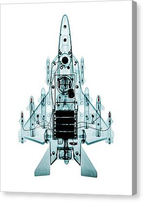 Toy Fighter Plane Canvas Print by Brendan Fitzpatrick