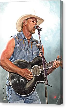 Trace Adkins Canvas Print by Don Olea