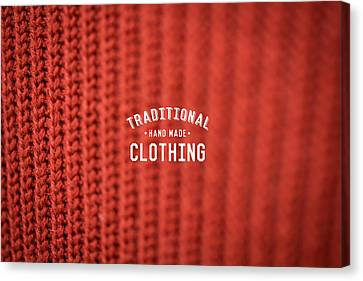 Traditional Clothing Canvas Print by Mike Taylor