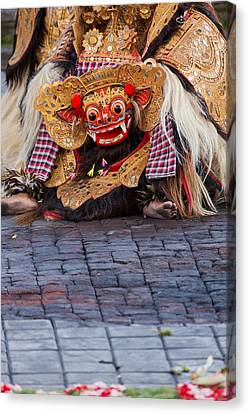 Traditional Dance - Bali Canvas Print