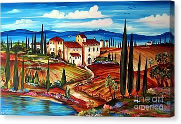 Tranquillita' Toscana Canvas Print