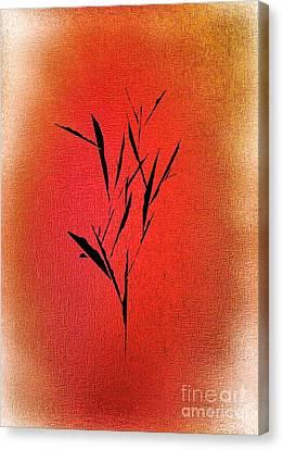 Abstract Digital Canvas Print - Tree by John Krakora