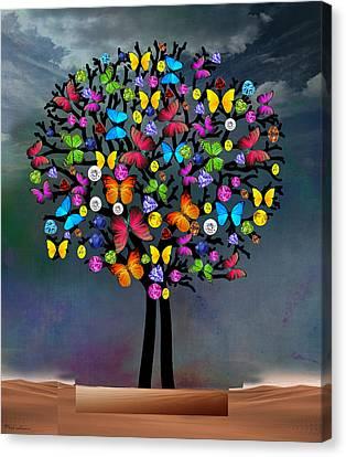 Tree  Canvas Print by Mark Ashkenazi