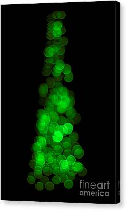 Tree Of Christmas Focus Canvas Print by Jorgo Photography - Wall Art Gallery