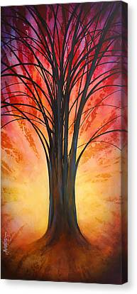 'tree Of Life' Canvas Print by Michael Lang