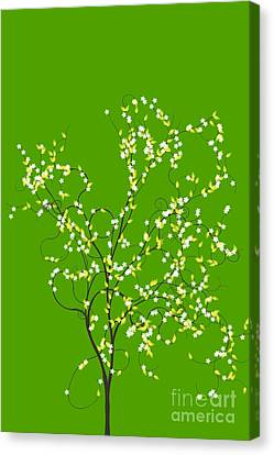 Trees Of Life Canvas Print by Charles Dobbs