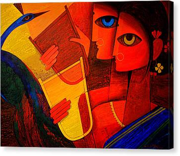 Tribal Women Canvas Print by Jiaur Rahman