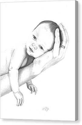 Trusting Innocence Canvas Print