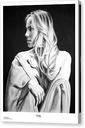 Tulip Canvas Print by Joseph Ogle