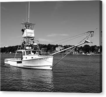 Tuna Boat Canvas Print by Donnie Freeman