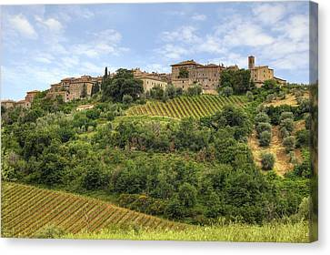 Tuscany - Castelnuovo Dell'abate Canvas Print