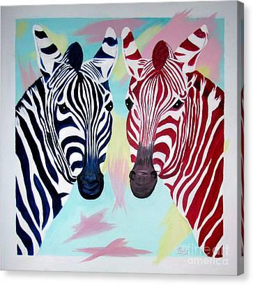 Twin Zs Canvas Print by Phyllis Kaltenbach