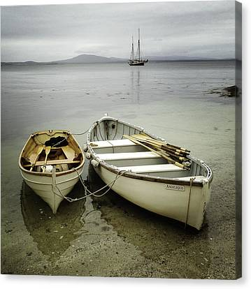 Two Boats Canvas Print by Fred LeBlanc