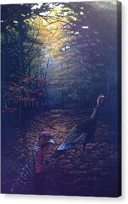Two Jakes Canvas Print by Dan Parsons