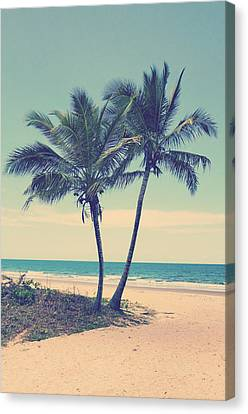 Two Trees Canvas Print by Girish J