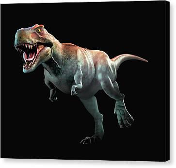 Tyrannosaurus Rex Artwork Canvas Print