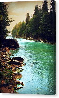 Ukrainian River Canvas Print