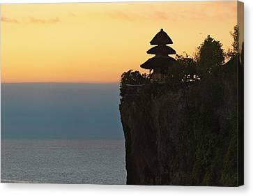 Uluwatu Temple On The Cliff, Bali Canvas Print