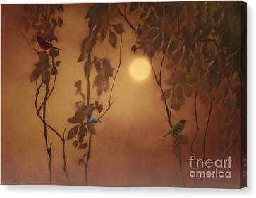 Uncommon Friends Canvas Print by Tom York Images