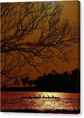 Under The Sunset Canvas Print by Athala Carole Bruckner