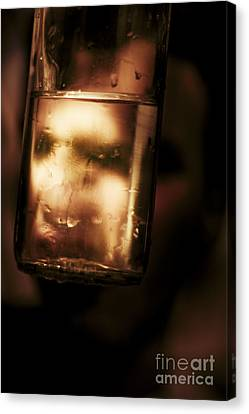 Unhappy Drunk Canvas Print by Jorgo Photography - Wall Art Gallery