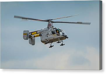 United States Air Force Hh-43 Huskie Canvas Print by Puget  Exposure