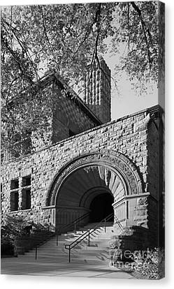 University Of Minnesota Pillsbury Hall Canvas Print by University Icons