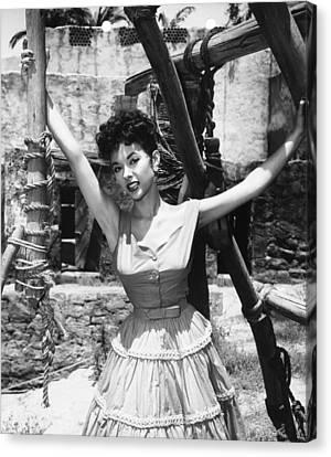 1950s Movies Canvas Print - Untamed, Rita Moreno, 1955. Tm & by Everett