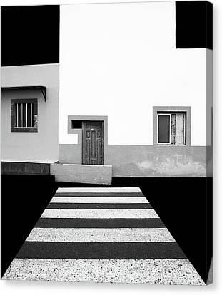 Crosswalks Canvas Print - Untitled by Inge Schuster