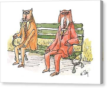 New Yorker May 21st, 2001 Canvas Print by William Steig