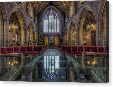 Christian Sacred Canvas Print - Upon Reflection by Ian Mitchell