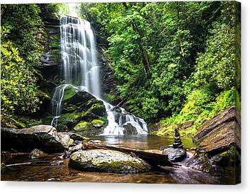Upper Catabwa Falls Canvas Print