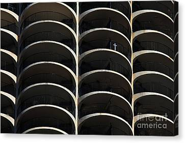Urban Abstract 3 Canvas Print by Jim Wright