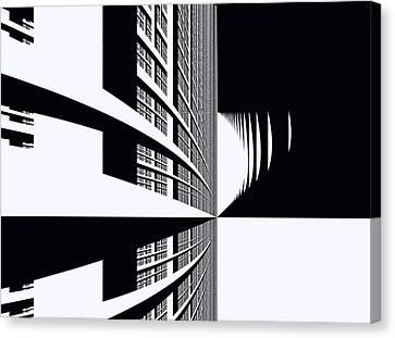 Urban Canvas Print