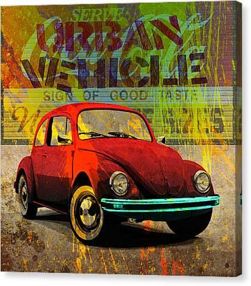 Urban Vehicle Canvas Print by Gary Grayson