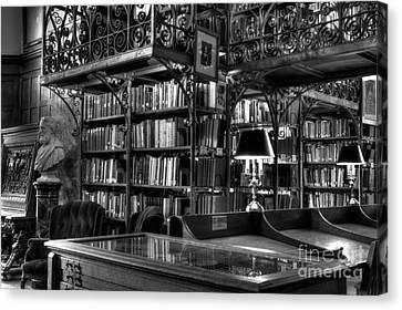 Uris Library Cornell University Canvas Print