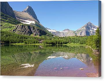 Us, Mt, Glacier National Park Canvas Print by Trish Drury
