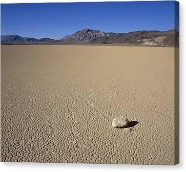 Usa, California, Death Valley, Stone Canvas Print