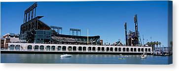 Usa, California, San Francisco, Sbc Canvas Print by Panoramic Images