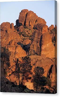 Usa, California, Sunset, High Peaks Canvas Print by Gerry Reynolds