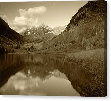 Usa, Colorado, White River National Canvas Print