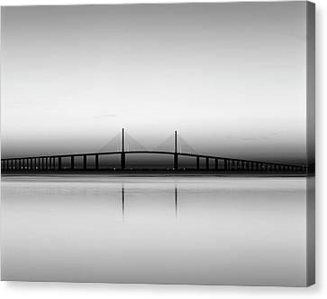 Usa, Florida, Sunshine Skyway Bridge Canvas Print