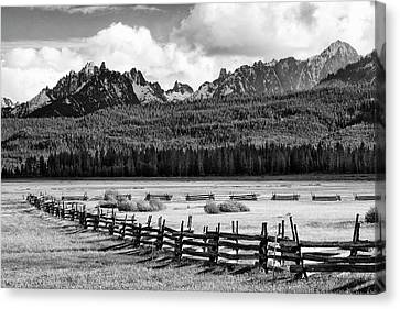 Usa, Idaho, Sawtooth National Canvas Print by Jaynes Gallery