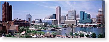 Usa, Maryland, Baltimore, High Angle Canvas Print by Panoramic Images