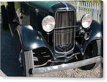 Usa, Nevada A 1934 Model T Ford Canvas Print