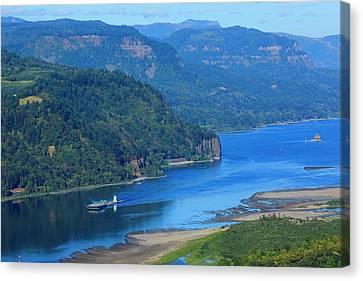 Usa, Oregon, Columbia Gorge Canvas Print