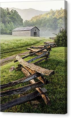 Usa, Tennessee, Great Smoky Mountains Canvas Print by Jaynes Gallery