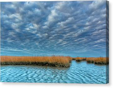Chincoteague Canvas Print - Usa, Virginia Cloudy Scenic by Jaynes Gallery