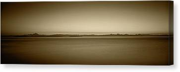 Usa, Washington, Juan De Fuca Strait Canvas Print by Walter Bibikow